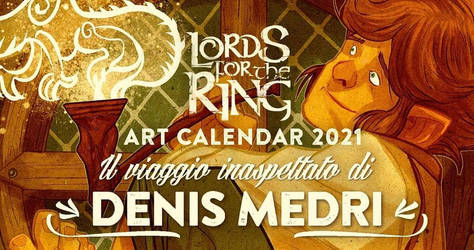 Lords for The Ring Art Calendar 2021