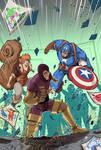 Marvel Action Avengers 2 Cover