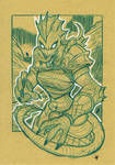 Fantasy Ladies - Lizard Warrior