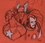 Avengers - Faces
