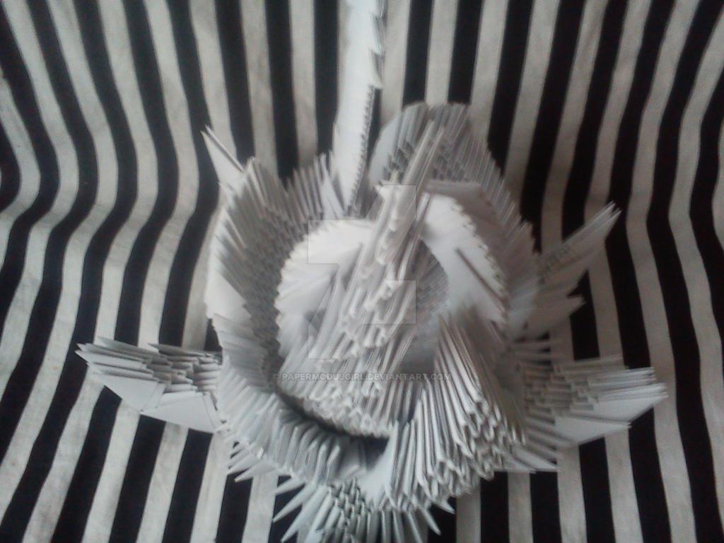 Papermodulobject Towermethamorphose 3, view2 by papermodulgirl