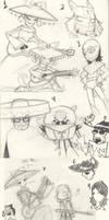 El Tigre sketches