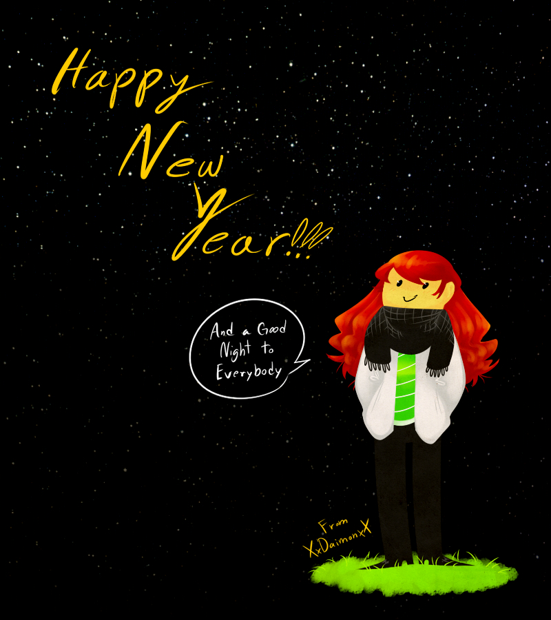 HAPPY NEW YEAR 2012 by XxDaimonxX