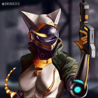 CM - Little Bionic Kitty