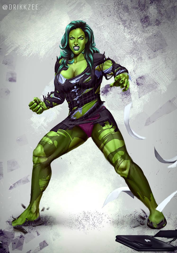CM - She Hulk / Jennifer Walters