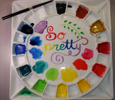 Palette as art by Marimaru
