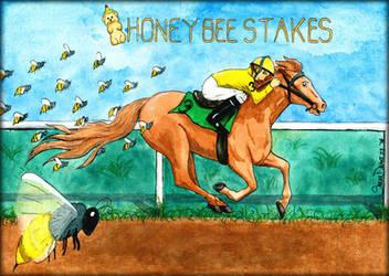 Honeybee Stakes Illustration by Marimaru