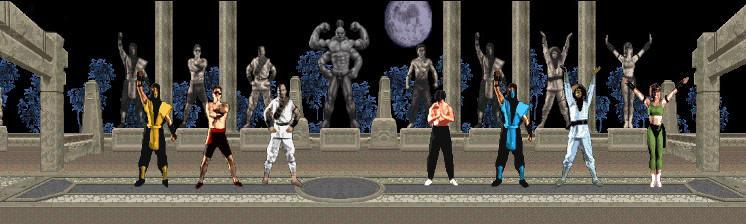 Mortal Kombat I Characters