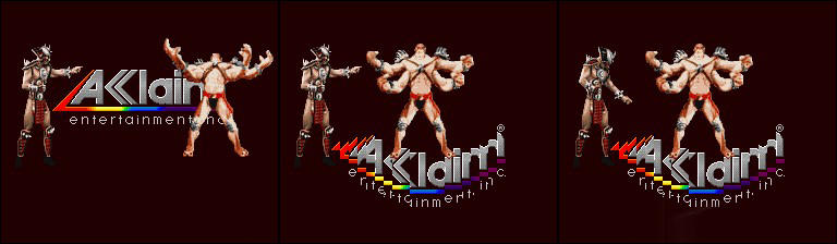 MK II - Aklaim Logo