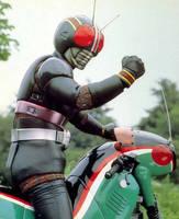 Kamen Rider Black by schmitthrp