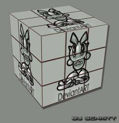 DeviantART cube