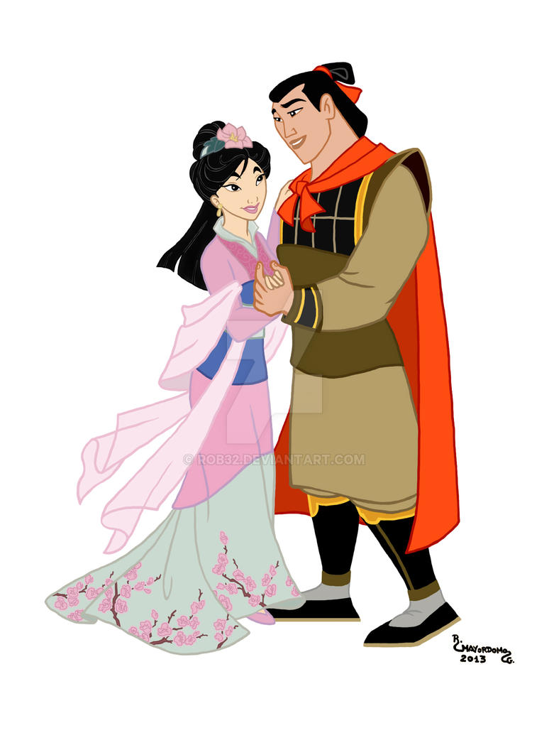 Uncategorized Mulan And Shang 36 mulan y shang by rob32 on deviantart rob32