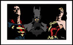 SUPERMAN, BATMAN Y WONDER WOMAN