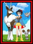 01.Blancanieves Pokemon  (SNOW WHITE POKEMON)