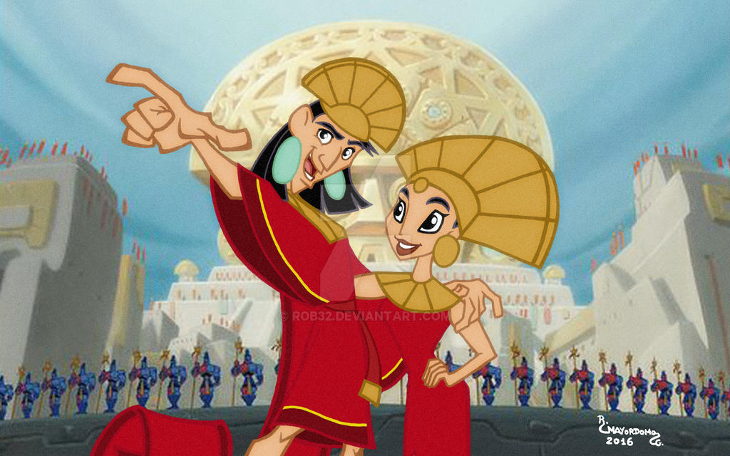 Kuzco The Emperor's New Groove On AllDisneyPrinces