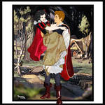 SNOW WHITE AND THE PRINCE,FAIRYTALE DISNEY!!!