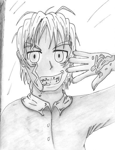 Boo Radley-Jem s Description To Kill A Mockingbird Jem Drawing