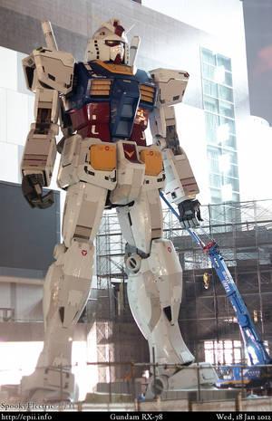 Odiaba's Protector: Gundam RX-78
