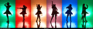 Retro Sailor Scouts Rainbow