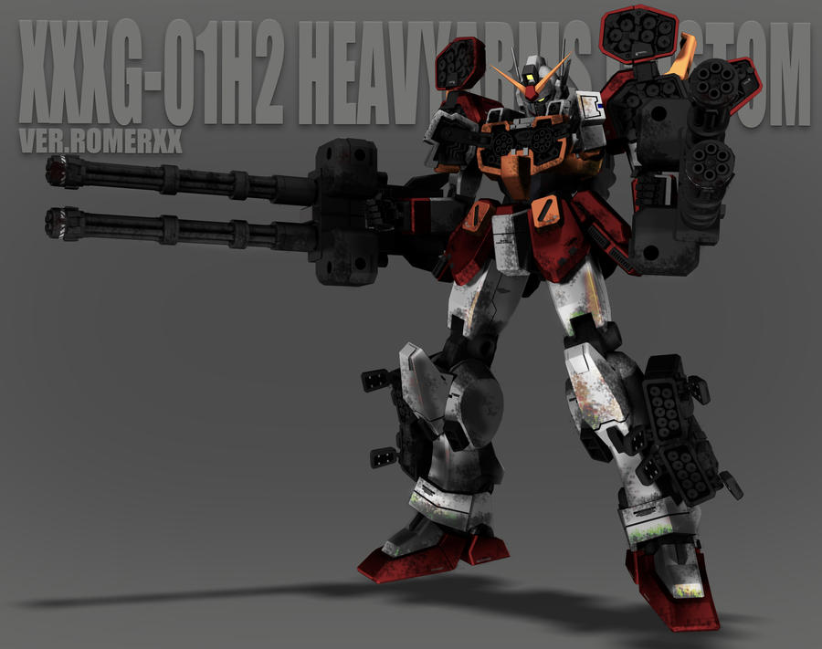XXXG-01H2 HEAVY ARMS CUSTOM by romerskixx