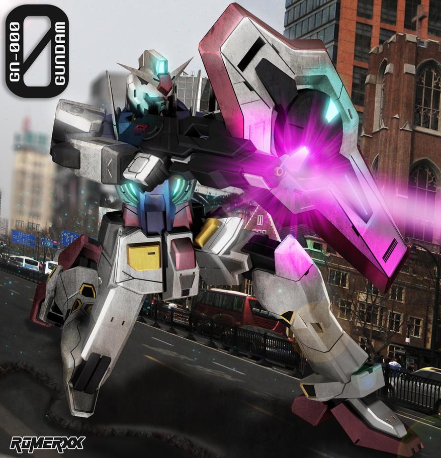 Random Gundam CG database Gn_000_0_gundam_by_romerskixx-d65xcmm