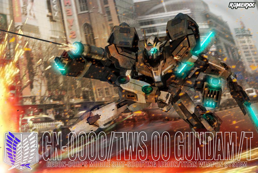 GN-0000/TWS 00 Gundam/T by romerskixx