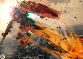 RX-78/C.A. Gundam [Char Aznable Custom]