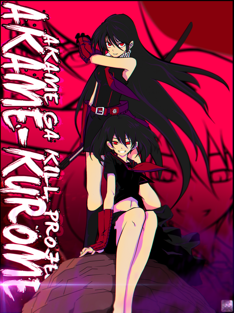 Akame/Kurome - Akame Ga Kill [PROJECT] by romerskixx