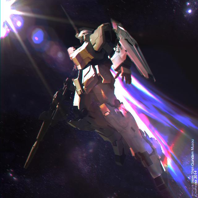 RX-0 Unicorn Gundam (UNICORN MODE) Edit by romerskixx