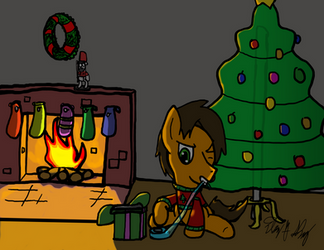 Last Minute Wrapping by EbbySharp