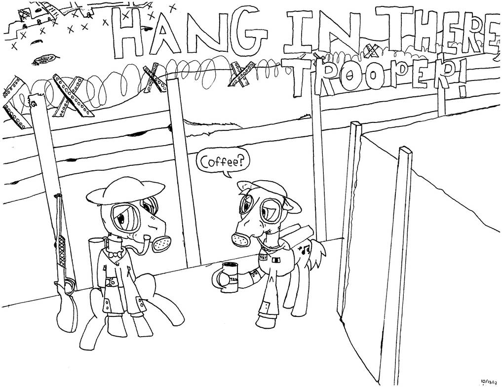 Hang in there, Trooper (first) by EbbySharp