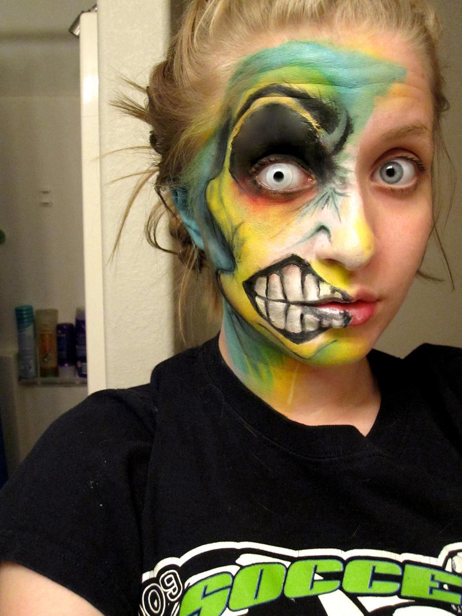 Mosterish facepaint two by KyleeGreider