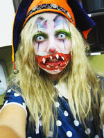 Haunted House Clown