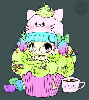 Razielle Cupcake