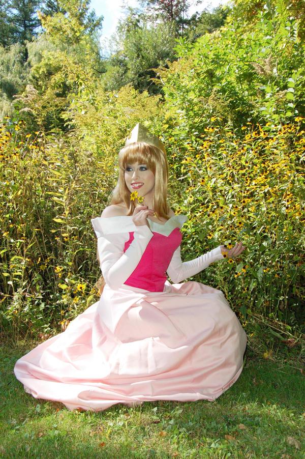 Princess Aurora Sitting by AngelSamui