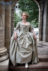 Madame de Pompadour Stepping Out