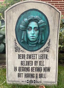 Madame Leota Tombstone