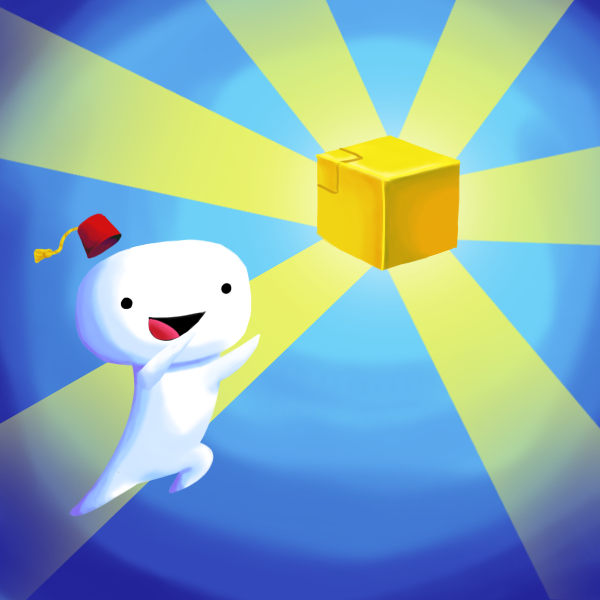 Fez: Cube-Collecting by Cyber-Pixel