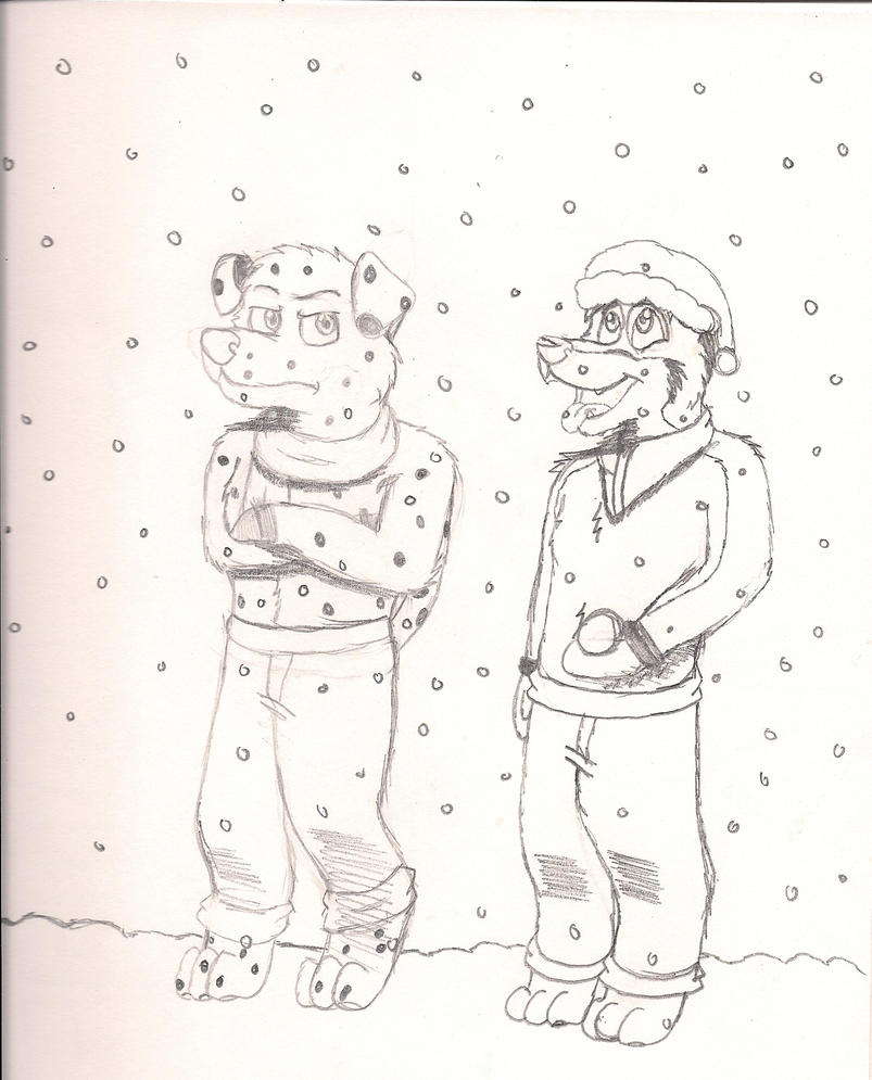 Snowing by kingking321