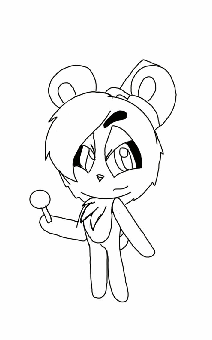 Coloring Page:. Chibi Freddy Fazbear by Sprinkled-Glitter on ...