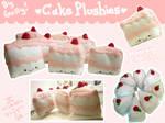 Hooray for CAKE plushies