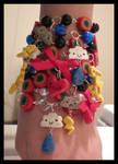 Stormy Day Rainbow Bracelets