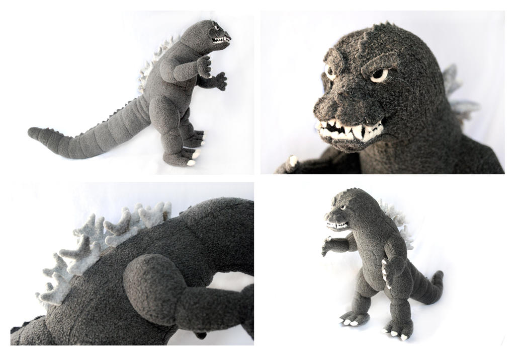 Ty Puppies Stuffed Animals, Custom Godzilla Plush By Pookat On Deviantart