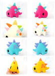 Handmade Stego Plush summer color collection