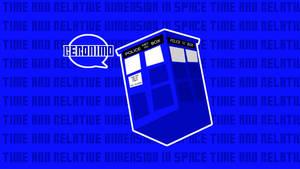 TARDIS WALLPAPER by MOGGGET