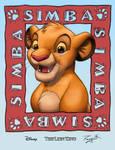 Simba coloring
