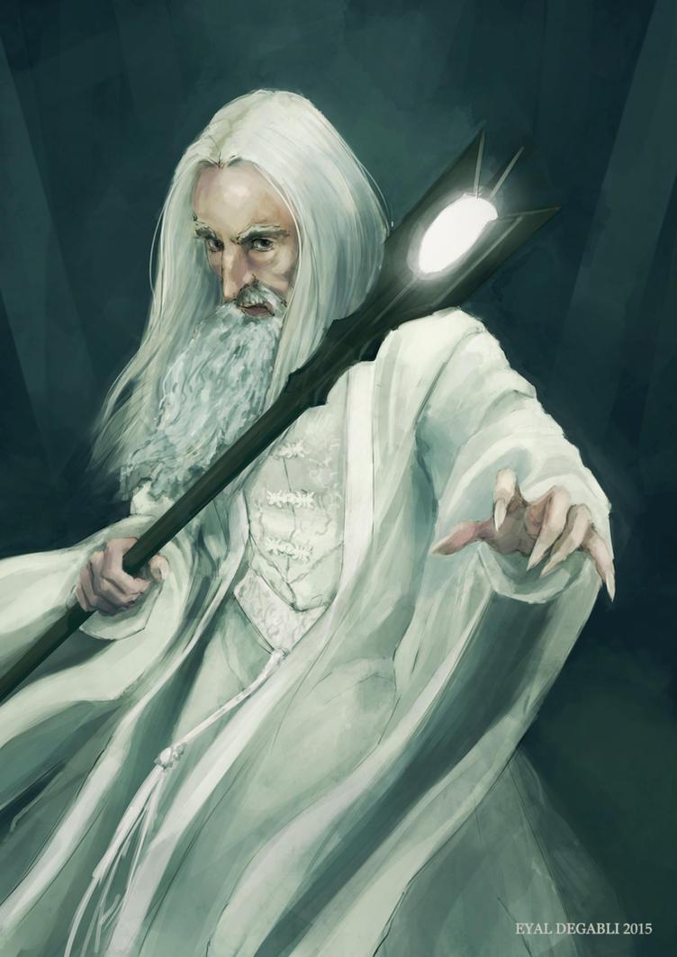 Saruman by EyalDegabli