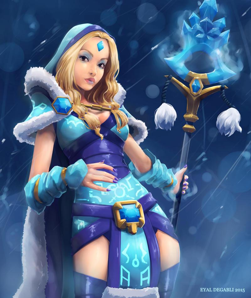 Crystal Maiden by EyalDegabli