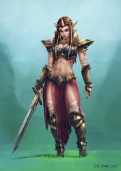 Warrior Princess Zelda