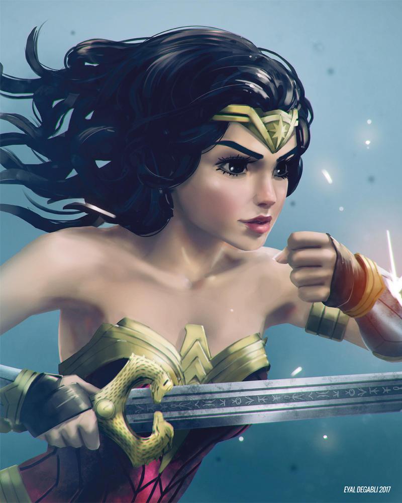 Wonder Woman by EyalDegabli
